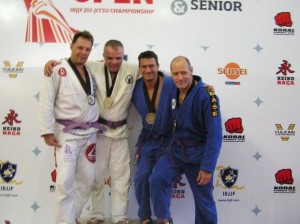 Tom Rice is third from the left after winning his division at the International competition.  Tom is a member of the American Shorin-ryu Karate Association and we hope will visit and teach a seminar on his winning technique at Family Martial Arts Academy in Beaverton, OR.