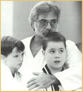 papa joe and kids