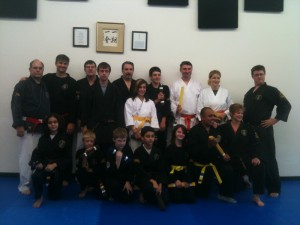 Graduation for Advanced Juniors and Adults at Family Martial Arts Academy, Beaverton, OR 97008